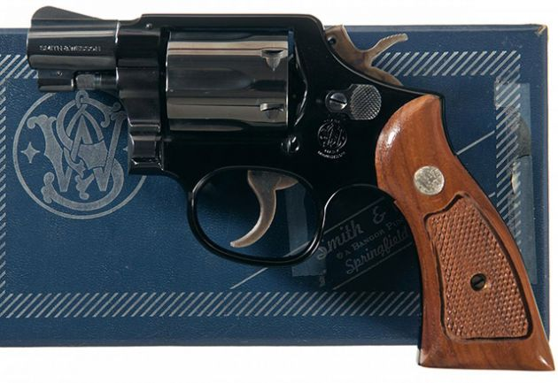 Smith Wesson Model 12